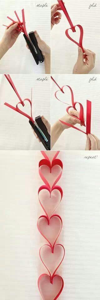 stapled-heart-garland