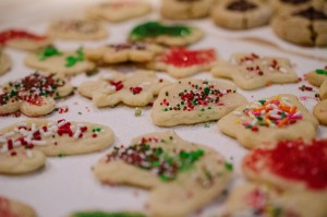 Photo Courtesy of M01229 on Flickr Decorated Christmas Sugar Cookies