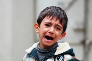 crying little boy pixibay